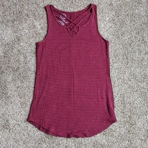 Maurices Strappy Front Tank